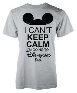 Autism Mickey I Can/'t Keep Calm I/'m Going To Disneyland Paris Kids Hoodie