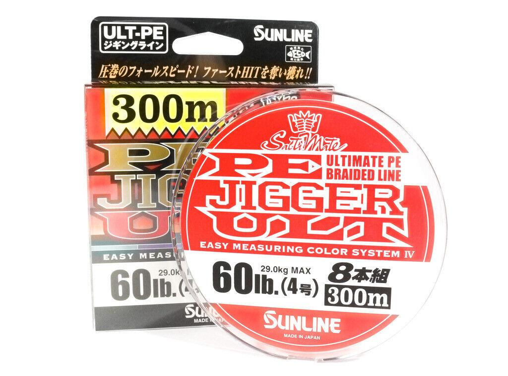 [Sunline] P.E Line X8 Ultra Jigger 300m P.E 4 60LB  2988