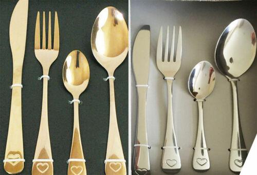 16 Piece Stylish Contemporary Kitchen Dining Cutlery Set