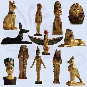 Ancient-Egypt-mini-ornaments-Sphinx-Mask-Anubis-Sarcophagus-Horus