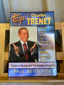 Top Charles Trenet Songbook partition chant piano accords Paul Beuscher