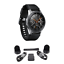 BUNDLE-Samsung-Galaxy-Bluetooth-Watch-46mm-Silver-SM-R800NZSCXAR thumbnail 1