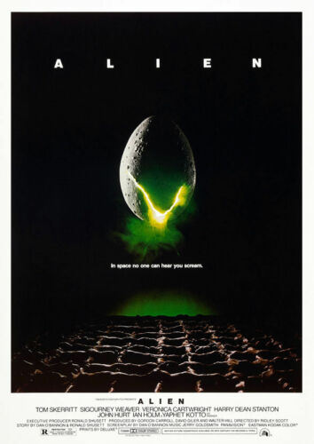 Alien Movie A4 260gsm Poster Print
