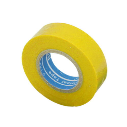 Vinyl Electrical Tape 1500# Leaded PVC Electrical Insulation Tape 18*10*0.13mm G