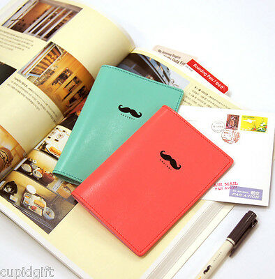 Bonjour Passport Case Travel Card Cash Ticket Boarding Pass Cute Holder Wallet