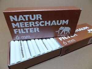 45-UNIDAD-6mm-Filtro-WHITE-Elefante-Natural-Espuma-de-mar-NUEVO-101481