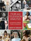 Film and Television Analysis: An Introduction to Methods, Theories, and Approaches by Harry M. Benshoff (Paperback, 2015)
