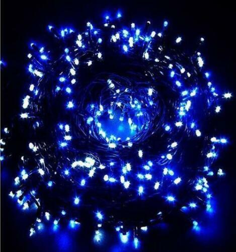 240//480//720 WHIT//WHITE BLUE//MULTI LED CLUSTER LIGHTS SUPER BRIGHT INDOOROUTDOOR