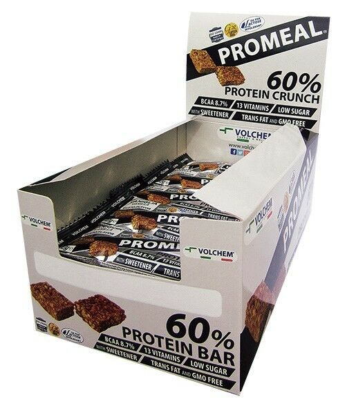 Volchem - PROMEAL PROMEAL PROMEAL PROTEIN CRUNCH 60% - 20x40g gusto Vaniglia e12b88