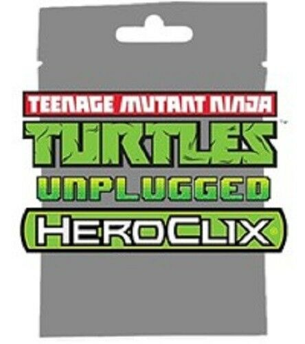 #016 Sergeant Granitor NM W// Card TMNT Unplugged Turtles HEROCLIX