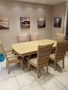 Image Is Loading Furniture Village Brunswick Dining Extending Table 8 Chairs