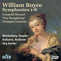 Symphonies 1-8 / L. Mozart: Toy Symphony [new Cd]