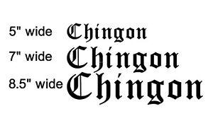 Chingona Sticker vinyl decal spanish