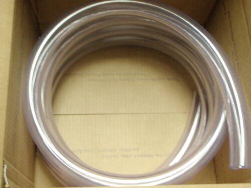 "HOSE CLEAR PVC TUBING 1/"" ID 12 FT BOAT MARINE WATER 88 1501006 BOATINGMALL"