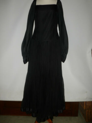 s W1 10 Uk Vintage 1970 Modèle Nettie Vogues Taille London Dress pvvY1Iq