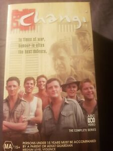 Changi The Complete ABC Television Series VHS Video in Slipcase