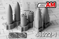 BETAB-500ShP Concrete-Piercing Bomb (Su-17/24/25/27/34...)  AMIGO RESIN 1/48