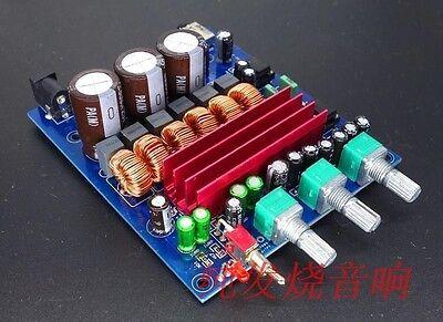 TPA3116D2 2.1 HIFI Digital Subwoofer Amplifier Verst Board 12V 50Wx2+100W 24 car