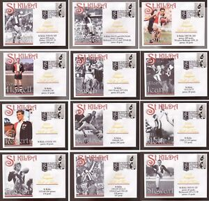 SET-OF-12-ST-KILDA-FC-INAUGURAL-HALL-OF-FAME-INDUCTEE-SOUVENIR-COVERS