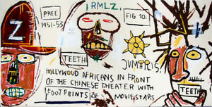 Jean-Michel-Basquiat-Print-on-Canvas-Abstract-art-Hollywood-Africans-24x48-034