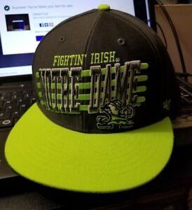 reputable site 2e117 1dbca Image is loading Notre-Dame-Fighting-Irish-039-47-Brand-Fluorescent-