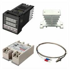 Sodial 101610 Digital 220v Pid Rex C100 Temperature Controller Set