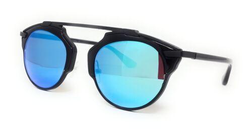 Cat Eye Sunglasses Flat Mirrored Lens Metal Frame Women Fashion