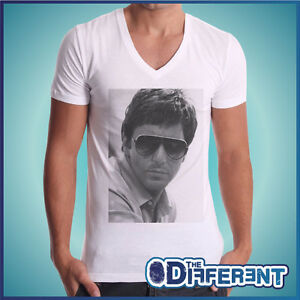 T-SHIRT-COLLO-V-AL-PACINO-OCCHIALI-SCARFACE-THE-HAPPINESS-IS-HAVE-MY-SHIRT-NEW