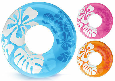 """Intex 36"""" Swimming Pool Inflatable Tyre Swimming Beach Tyre Ring Pool Party"""