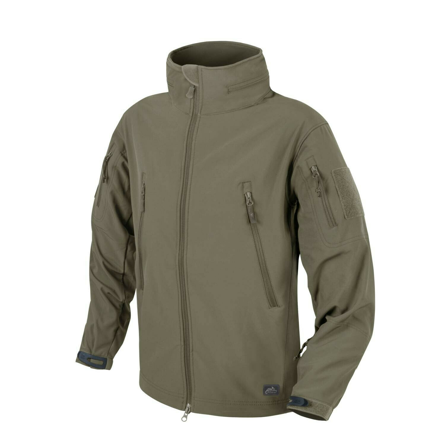 HELIKON tex Gunfighter Shark Softshell outdoor chaqueta adaptive verde Small