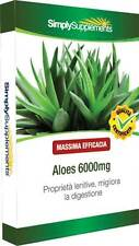 Aloe Vera 6000mg 120 Cpr per il benessere digestivo B571