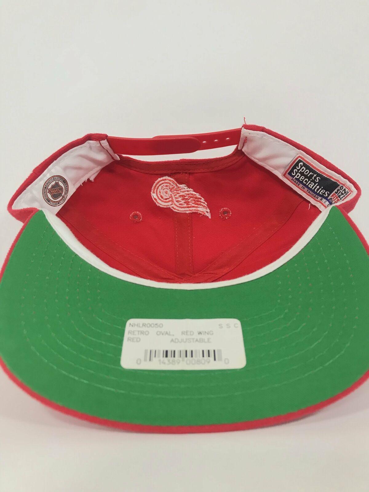 Detroit Red Wings Badge Snapback - image 3