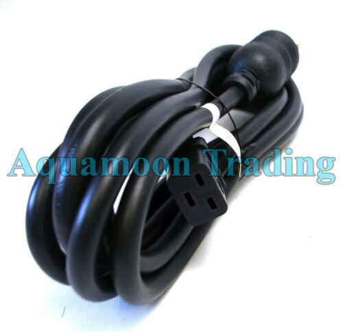 New J562N Dell PDU 12ft Black Power Extension Cord C-19 to L6-20P 12awg 200-250V