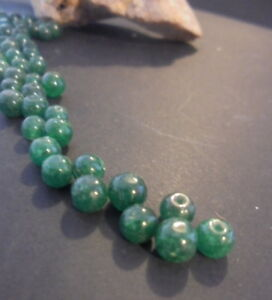 20 Perle Pierre Naturelle Rond 5 Mm Aventurine Verte Green Natural Stone Bead Jwisusqp-07223004-871682427