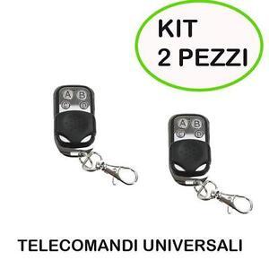 KIT-2-TELECOMANDO-CANCELLO-UNIVERSALE-433-MHz-PER-CANCELLI-FAAC-CAME-BFT