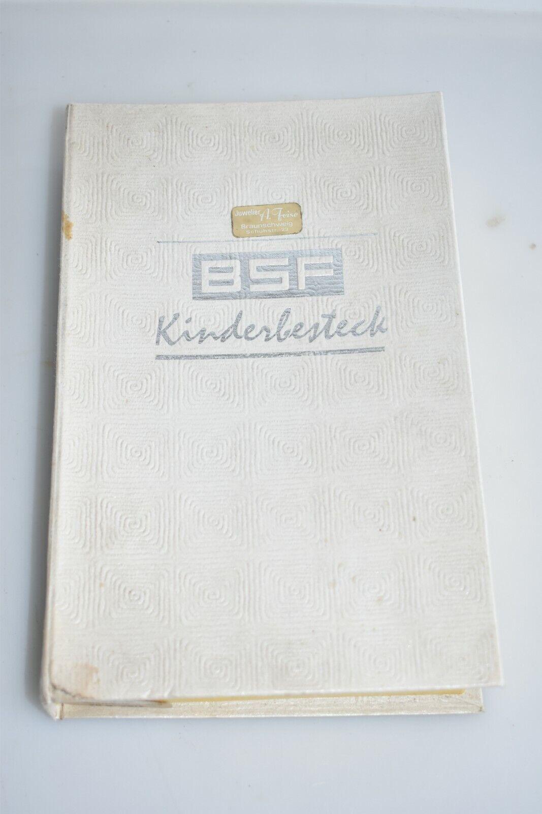 Vintage Enfants Couverts BSF Kasperle nos Inutilisé m4