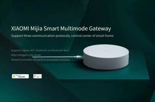 Xiaomi Multimode ZigBee 3.0 WIFI Bluetooth Mesh HomeKit Smart Home Gateway Hub 3