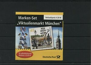 Germany-BRD-Federal-Stamp-Booklet-MH-53-Postmarked-Used-More-See-Shop
