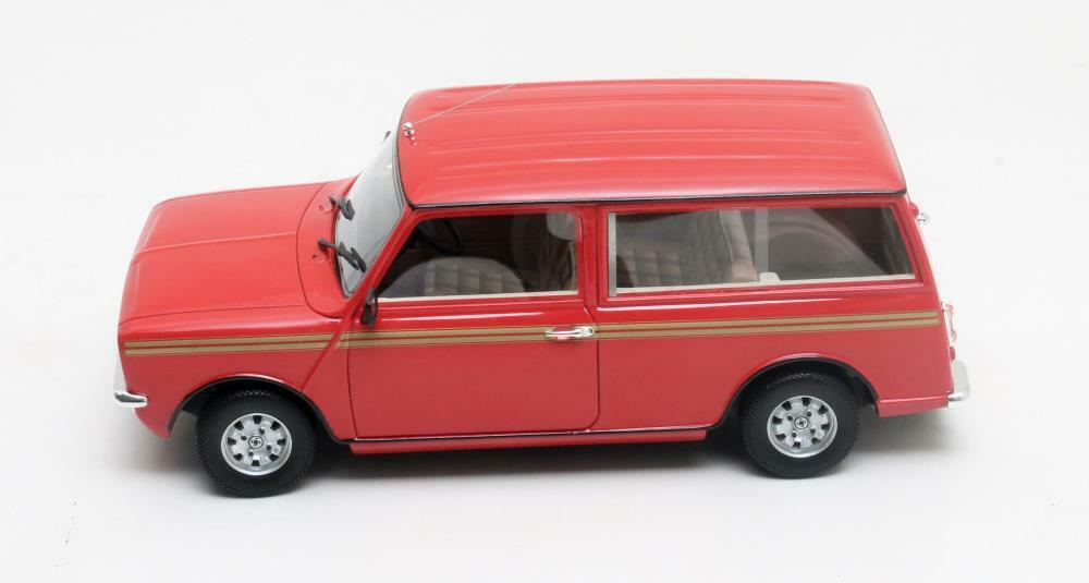CULT MODELS CML018-1 MINI CLUBMAN ESTATE resin model car red 1974 1 18th scale