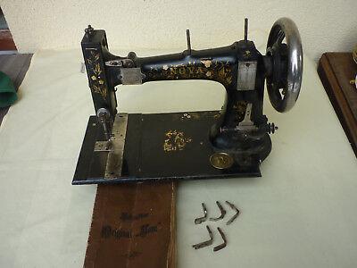 Treu Nähmaschine Original Nova, Antik, Ca. 1910