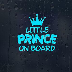 Little-Prince-On-Board-Car-Decal-Blue-Vinyl-Sticker-For-Bumper-Panel-Window