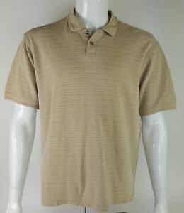 Geoffrey-Beene-Men-Size-Large-Casual-Short-Sleeve-Collar-Golf-Rugby-Polo-Shirt