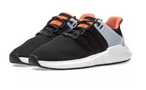Adidas Eqt Support 93/17 Black 9.5 Orange Size 9.5 Black 52423e