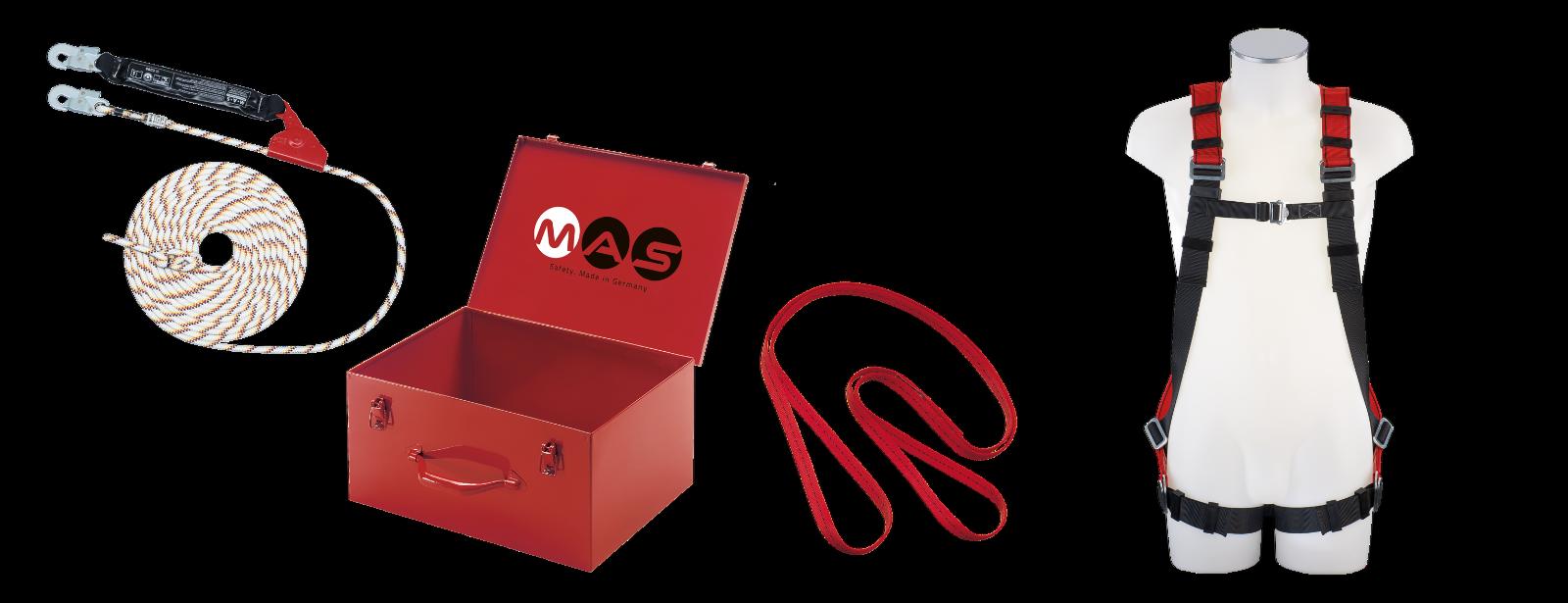MAS Sicherheitsgurt Auffanggurt Auffangsystem Sicherheitsgurt f.Gerüstbauer