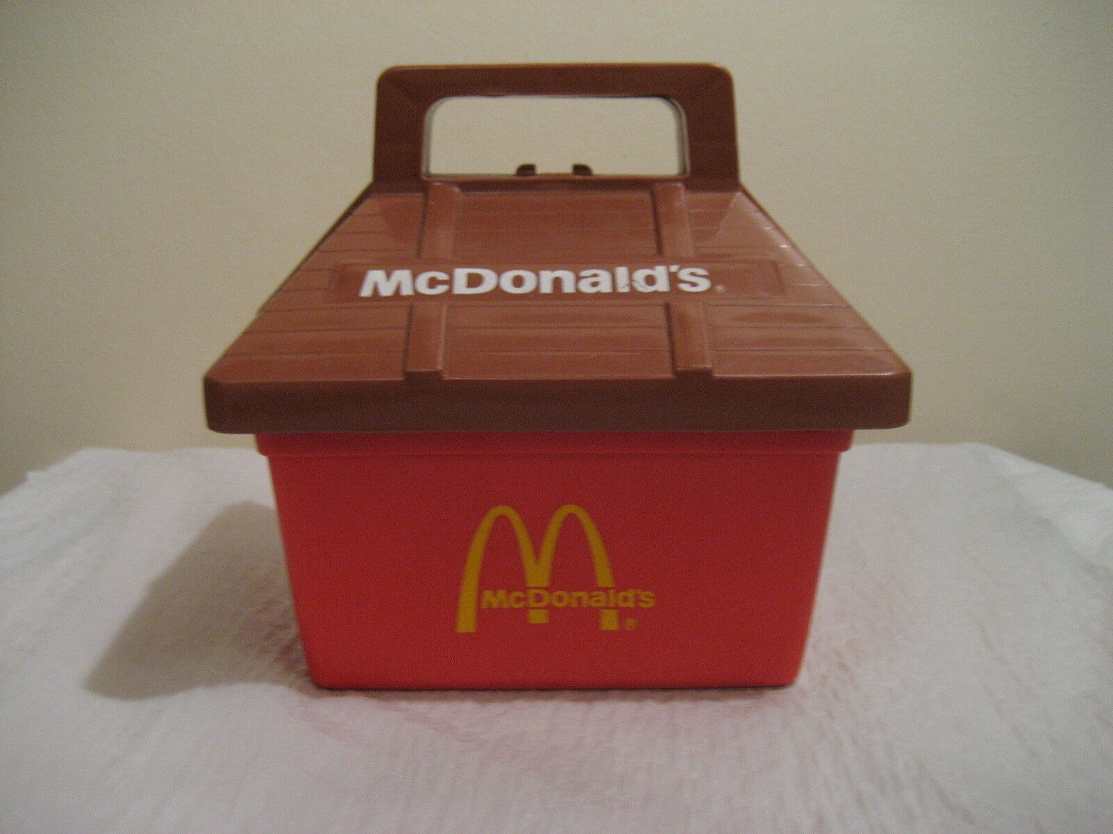 MC DONALDS PLAY TOTE LUNCHBOX from playskool 1975 a rare find