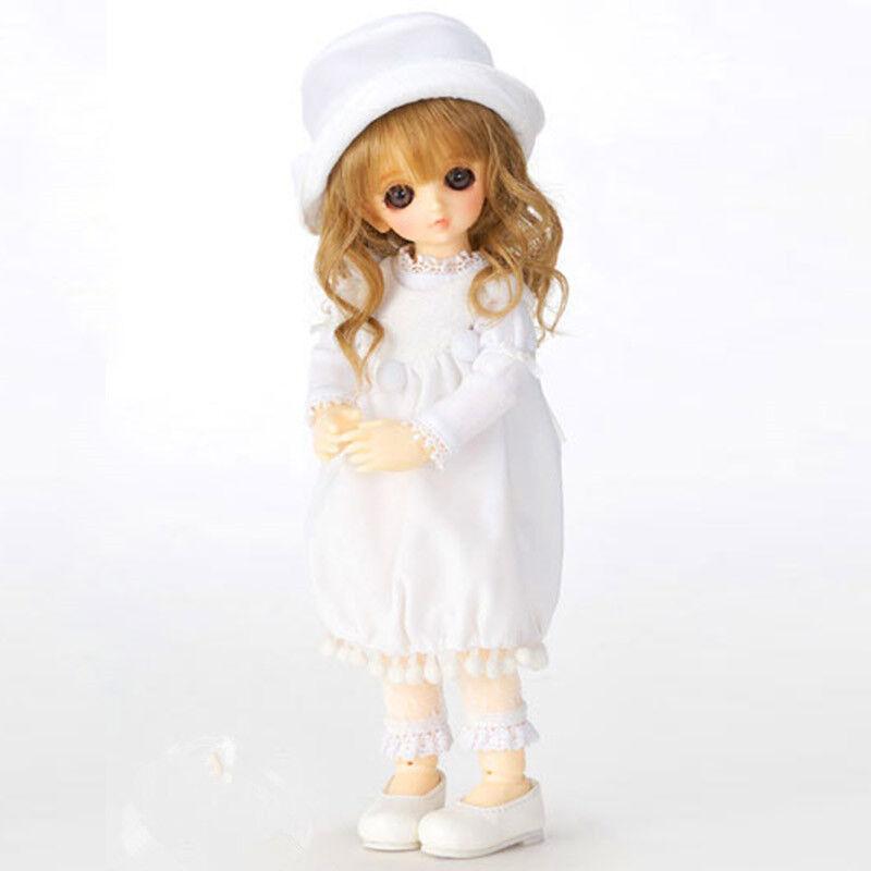 1 6 muñeca de BJD SD muñeca VOLKS Suzuna 丸子铃菜-Gratis Cara Maquillaje Ojos + Gratis