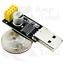 ESP8266EX 802.11bgn WiFi Module w// USB Programmer Adapter Arduino Pi 10 x $40