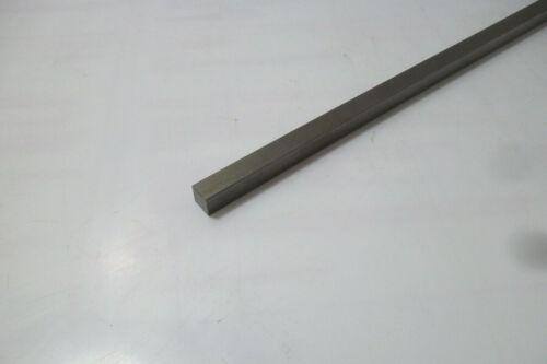 10 x 10mm x 245mm Silberstahl 1.2210 Vierkantstab 115 CrV 3 9873