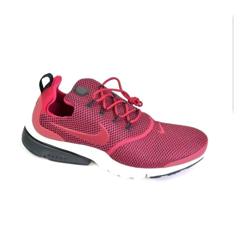 Nike Women's Presto Fly SE Red White Black Size 10 (910570-601)