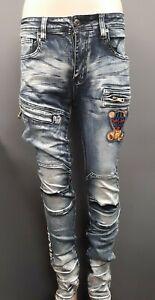 Men-039-s-Black-Keys-034-Stickup-Artist-034-Jeans-Medium-Blue